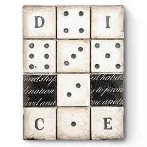 """Dice' by Sid Dickens"