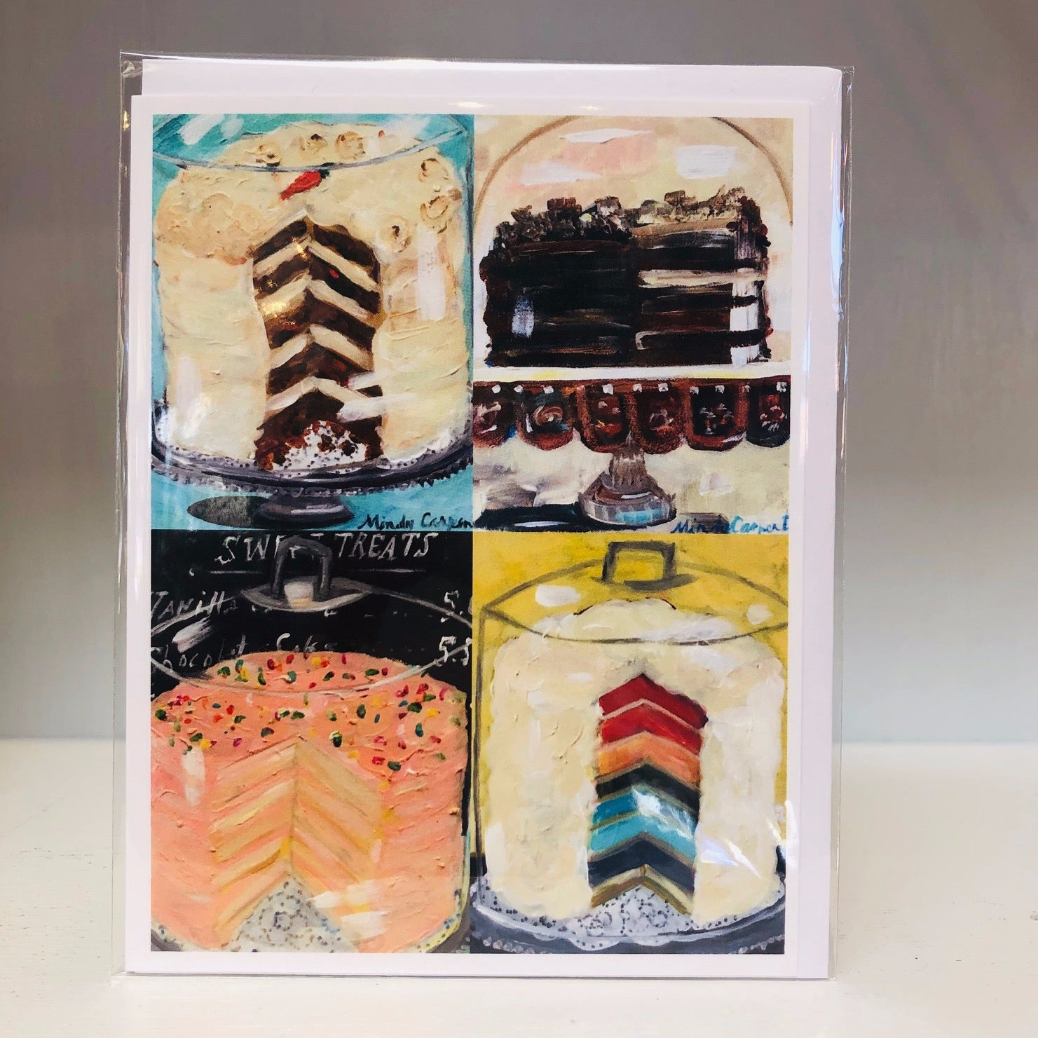 Cake Party Greeting Card