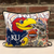 University of Kansas Embroidered Pillow