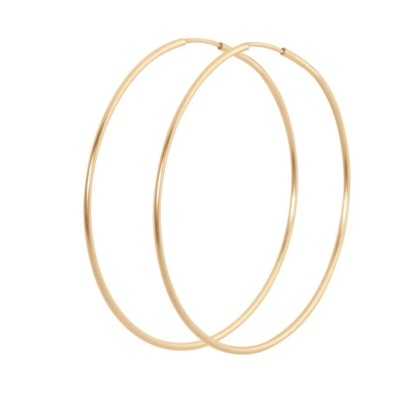 "Endless Gold 1.75"" Hoop"