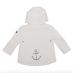 Baby Raincoat, White, multiple options available