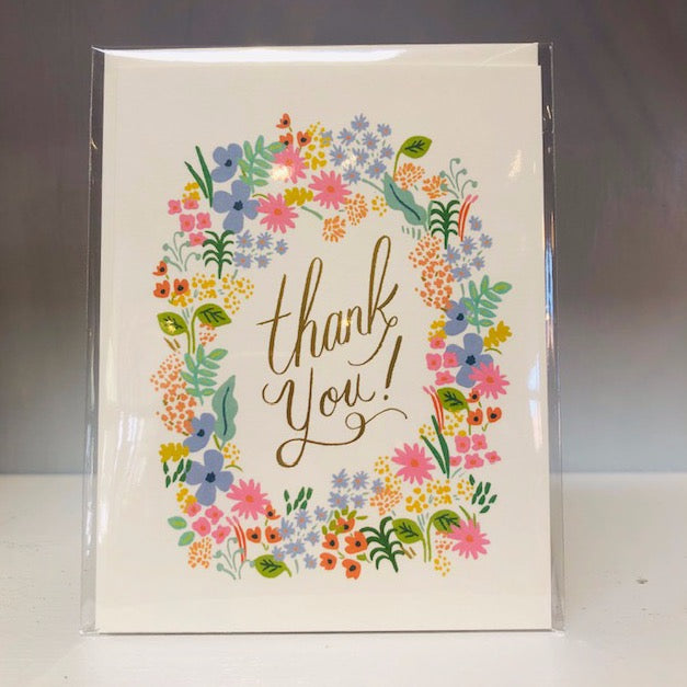 Prairie Thank You Greeting Card