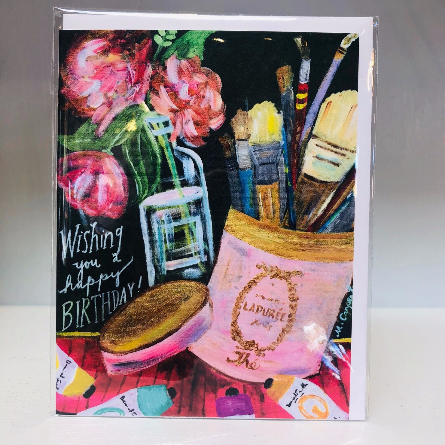 LaDuree Birthday Greeting Card