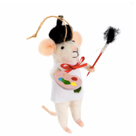 Andre Artiste Mouse Ornament