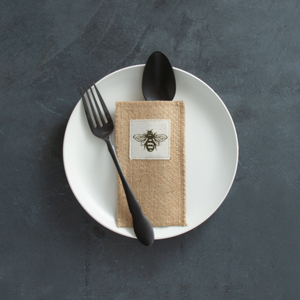Boutique Silverware Pouches, multiple options available