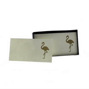 Flamingo Printed Paper Cards
