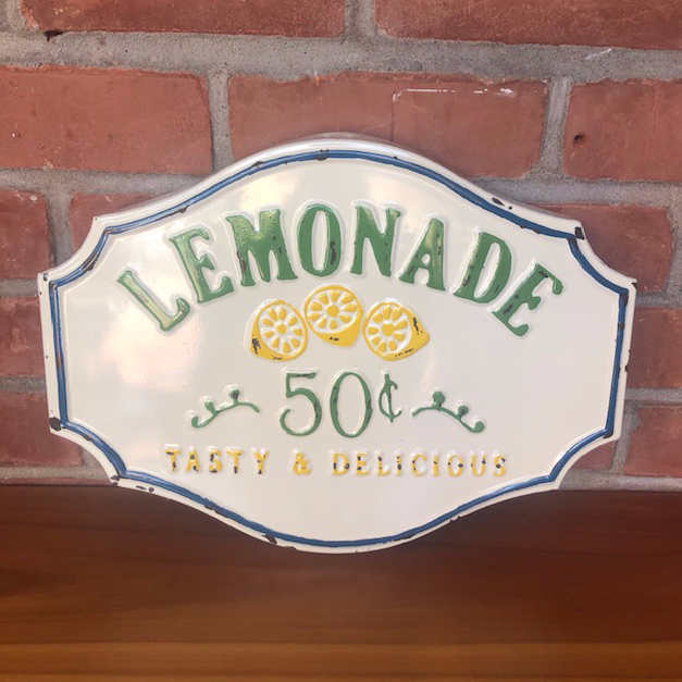 Lemonade Metal Sign