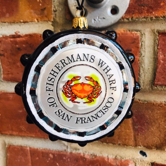 Fishermans Wharf Christmas Ornament