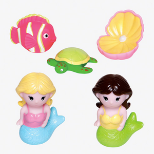 Mermaid Party Squirtie Bath Toys
