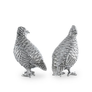 Standing Quail Salt & Pepper Set