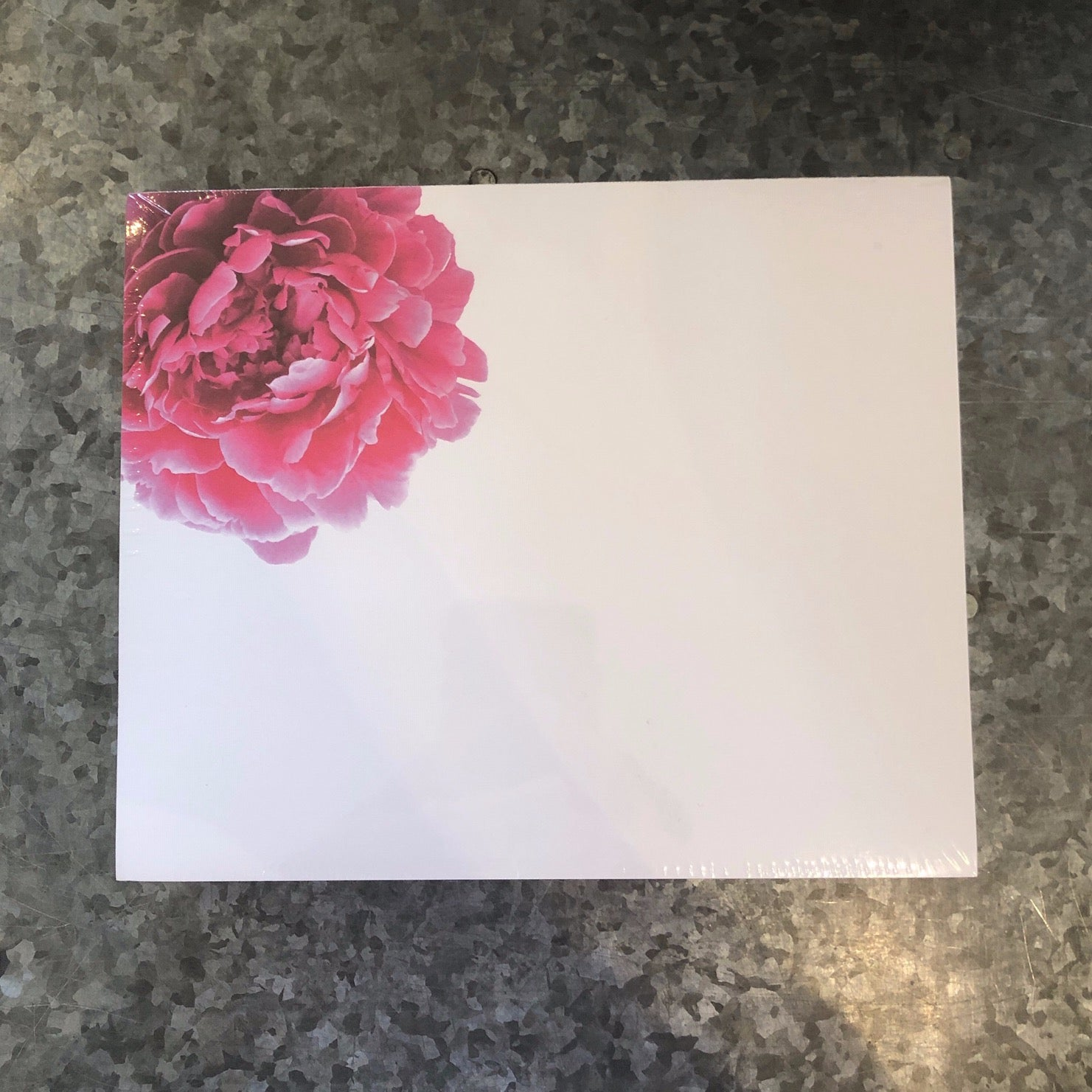 Peony Luxe Notepad
