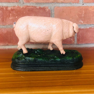 Pig on Grass Doorstop