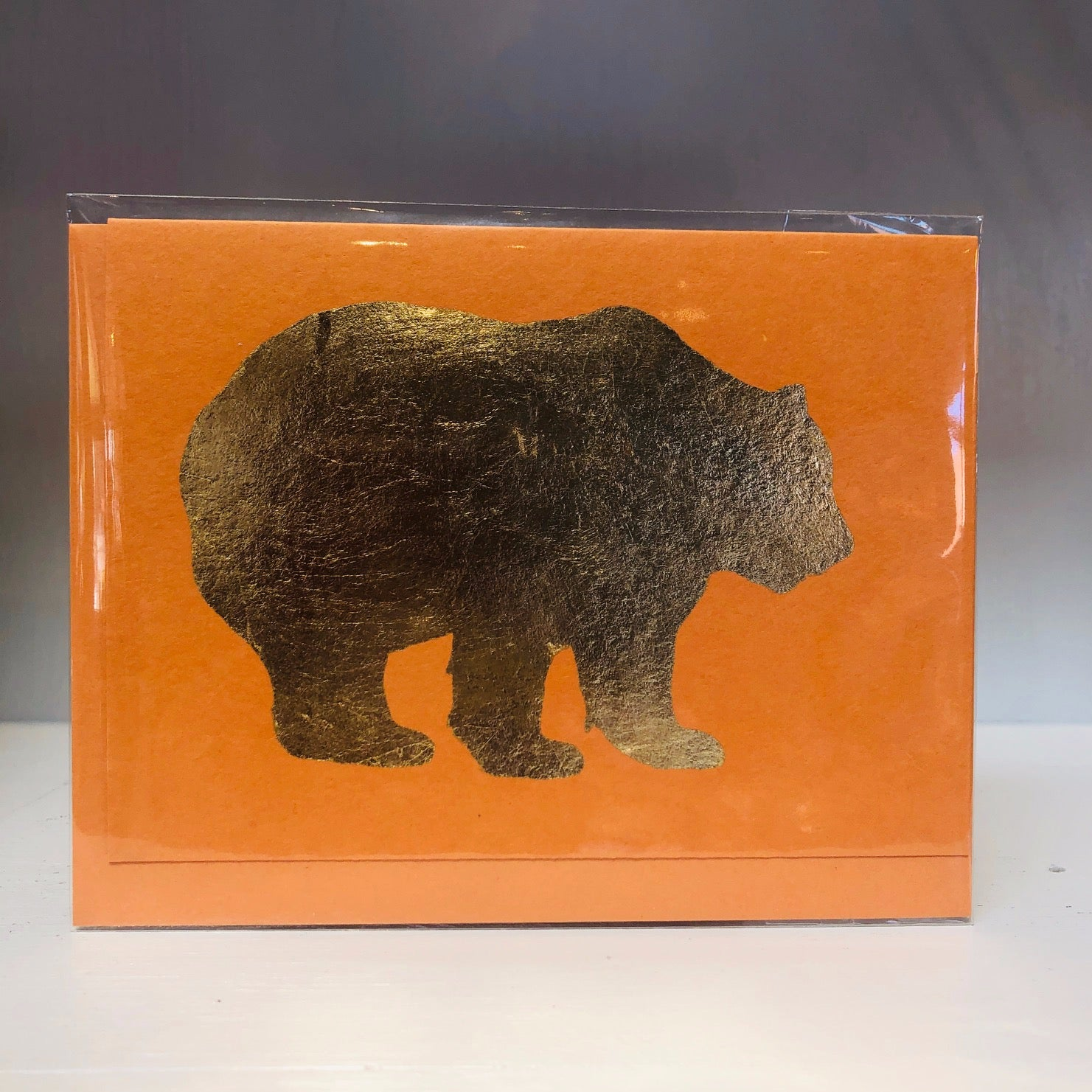 California Bear Greeting Card