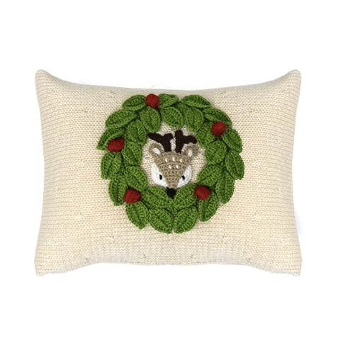 Peekaboo Deer Mini Pillow