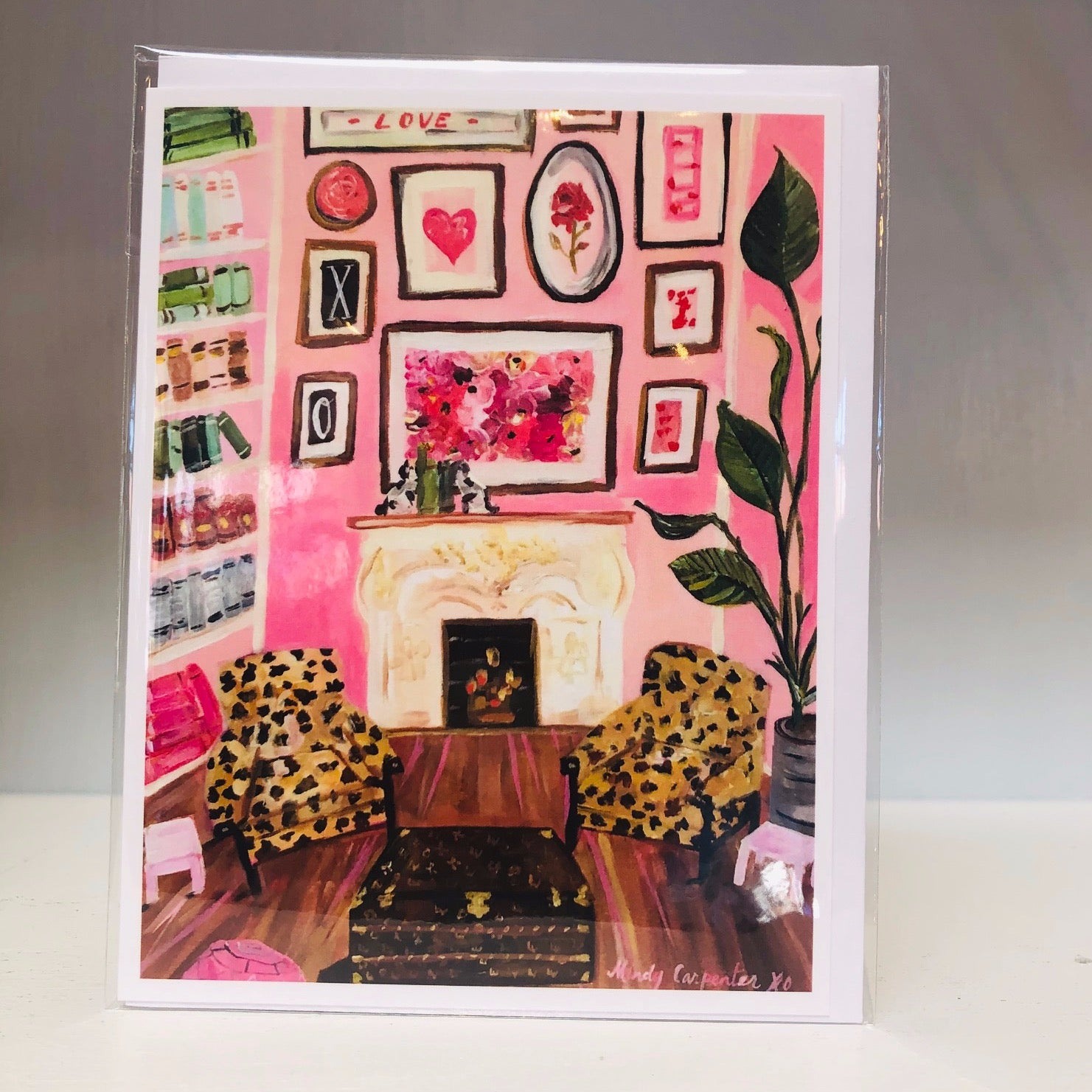 Leopard & Louis Greeting Card