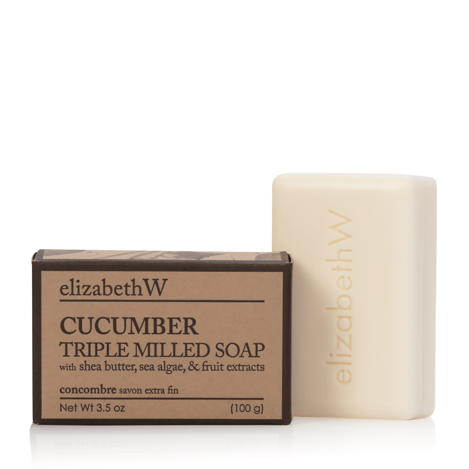 Cucumber Soap- 3.5 oz