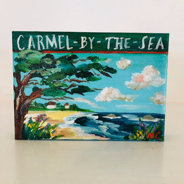 """Carmel by the Sea"" painting by Mindy Carpenter"