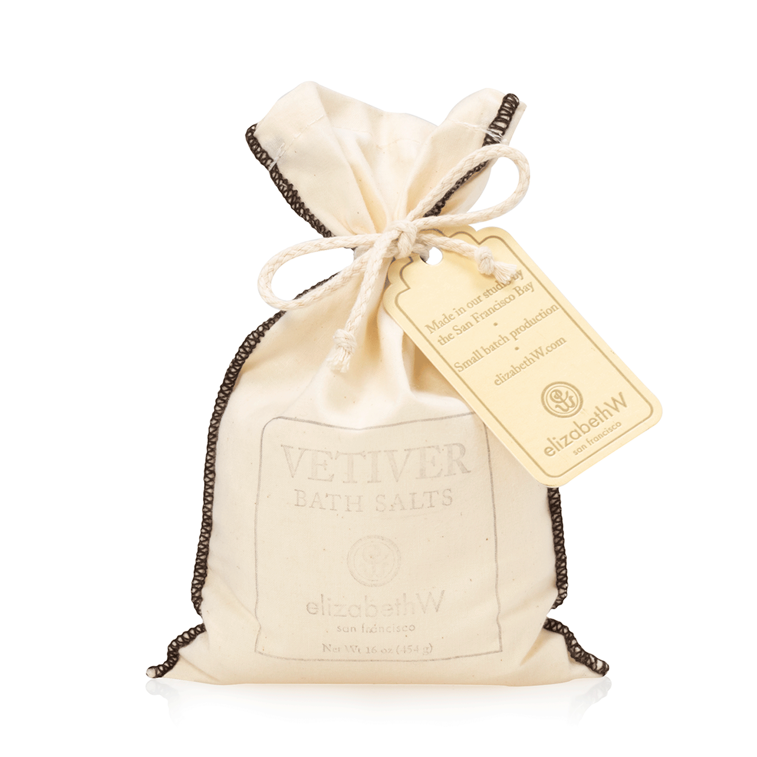 Vetiver Bath Salts in Bag