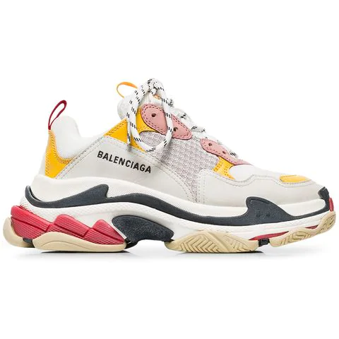 Balenciaga Triple S Trainer Pink yellow