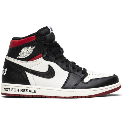 "Jordan 1 Retro High ""Not for Resale"" Varsity Red"