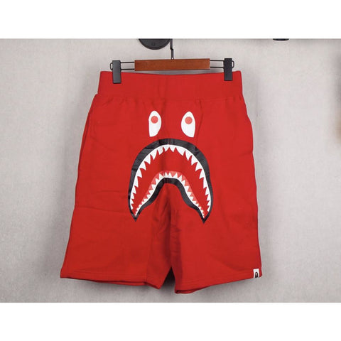 Bape Shorts All Red