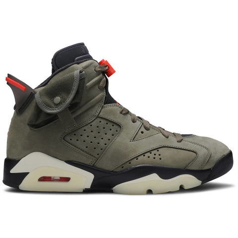"Travis Scott x Jordan 6 ""Olive Green"