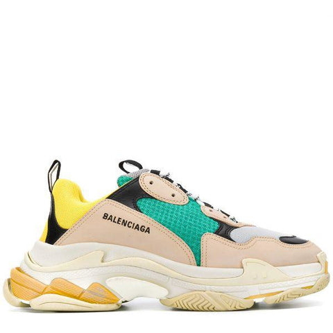 BALENCIAGA TRIPLE S TRAINER YELLOW YELLOW GREEN
