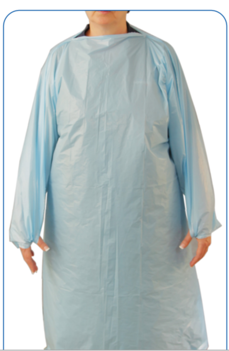 45GSM CPE Isolation Gown