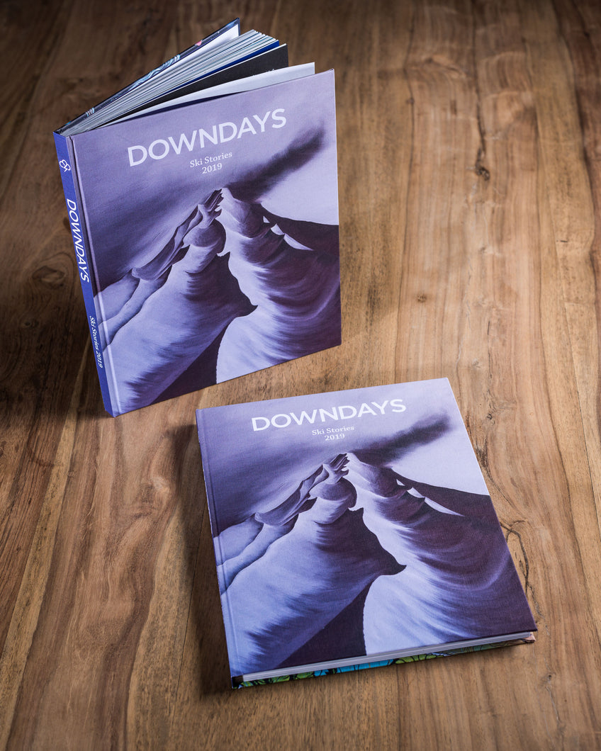 Downdays 2019 Book of Ski Stories