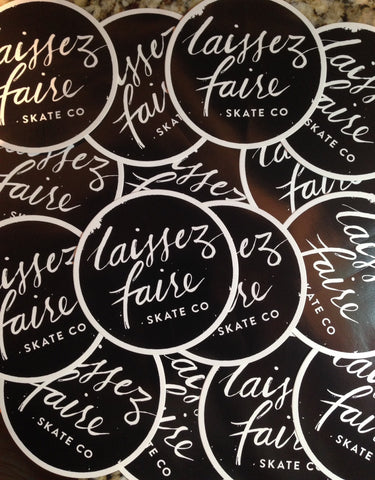 Stickers - Laissez Faire Surf Co