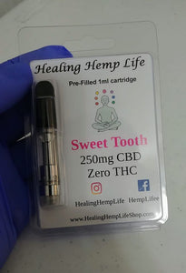 CBD vape cartridge