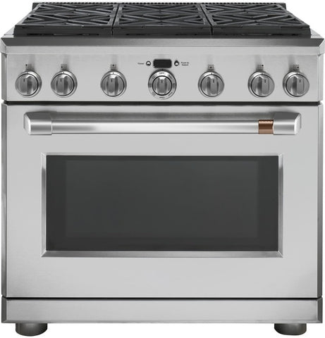 "Café™ 36"" Dual-Fuel Professional Range with 6 Burners (Natural Gas)"
