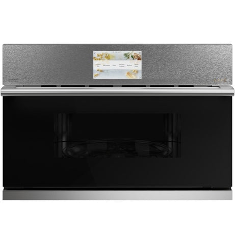 "Café™ 30"" Smart Five in One Oven with 120V Advantium® Technology in Platinum Glass"