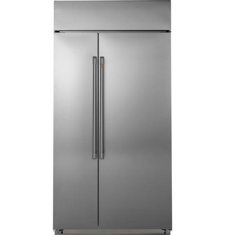"Café™ 42"" Smart Built-In Side-by-Side Refrigerator"