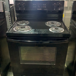 "Scratch and Dent: Frigidaire 30"" Electric Range, Black"