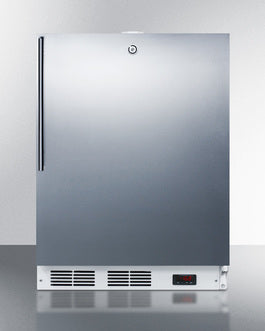 "Accucold 24"" Wide Built-In All-Freezer, ADA Compliant"