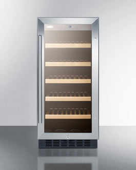 "Summit 15"" Wide Built-In Wine Cellar, ADA Compliant"