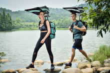 Load image into Gallery viewer, Funshell Slim Line Backpack Umbrella