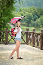 Load image into Gallery viewer, Funshell Kids Slim Line Backpack Umbrella