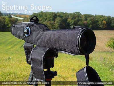 Snypex Knight T80 ED-APO 20-60x80 Straight-Viewing SpottingScope‎ - SNYPEX