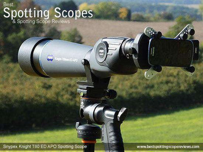 Snypex Knight T80 ED-APO 20-60x80 Straight-Viewing Spotting Scope‎ - SNYPEX