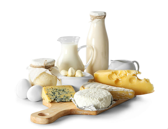 Dairy, Cheese, Yoghurt & Eggs