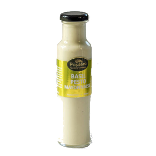 Basil Pesto Mayonnaise 250ml - Peplers