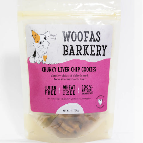 Chunky Liver Chip Cookies - Woofa's Bakery