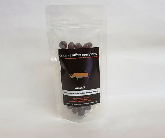 Chocolate Coated Coffee Beans 100g - Origin Coffee
