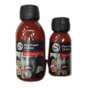 Deadly Chilli Sauce - Fire Dragon Chillies