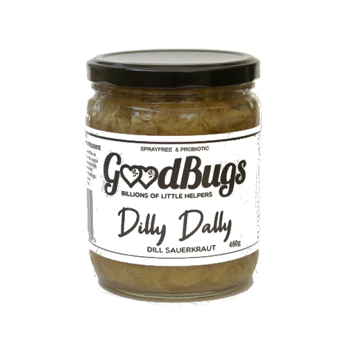 Dilly Dally Sauerkraut 460g - GoodBugs