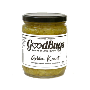 Golden Kraut Sauerkraut 460g - GoodBugs