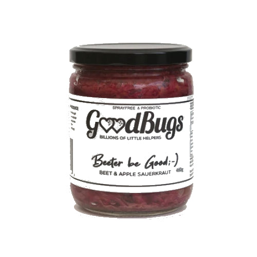 Beeter be Good Sauerkraut 460g - GoodBugs