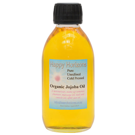 Organic Golden Jojoba Oil 200ml - Happy Horizons